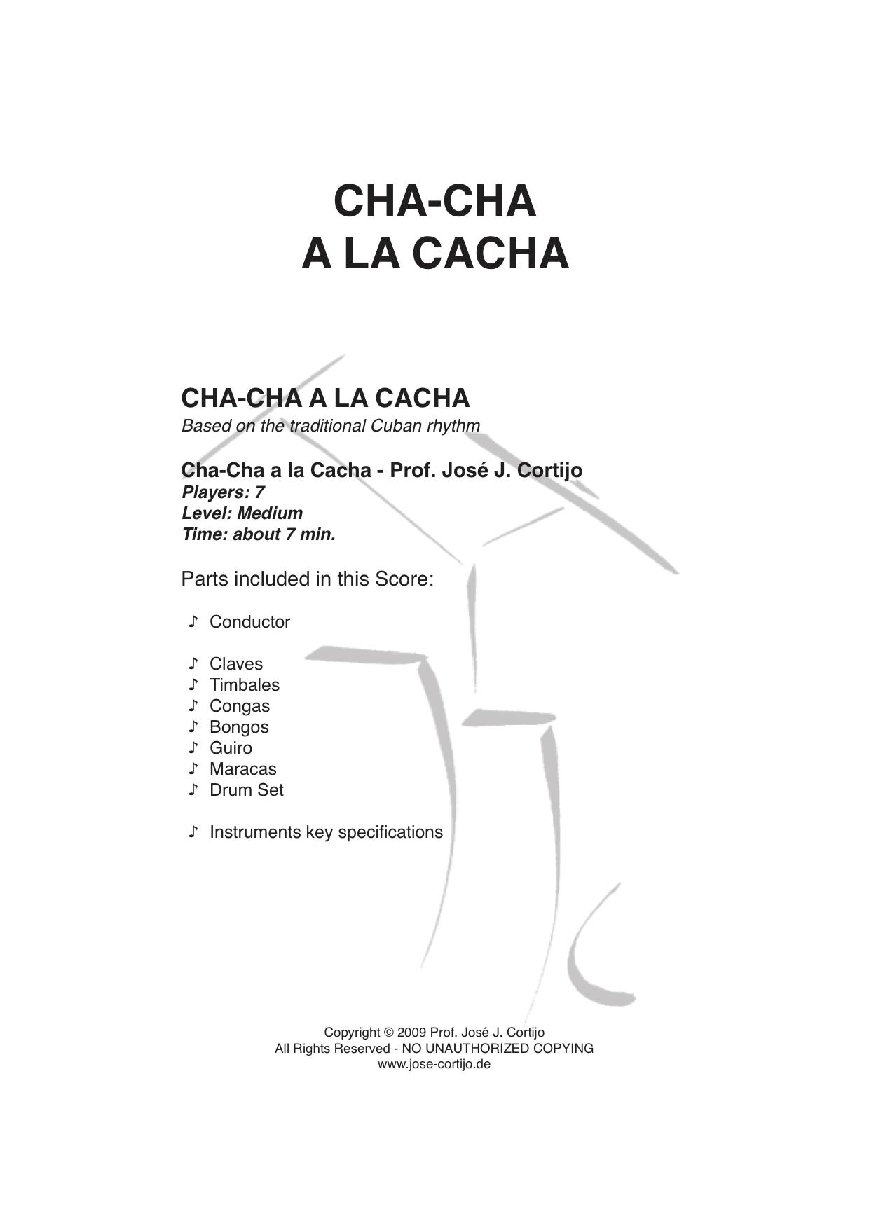 Cha-Cha a la Cacha